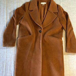 H&M Wool Blend Long Coat